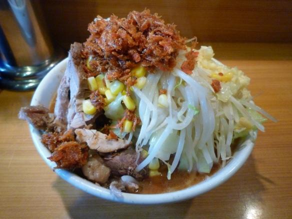12年11月24日 野猿 AB郎味噌Ver. 麺少な目 ニンニク