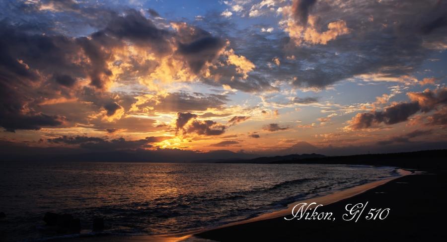 夕焼けの西浜S