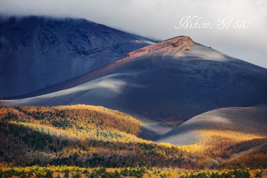 秋の宝永山