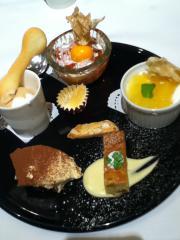 todaylunch 20121016 desert plate