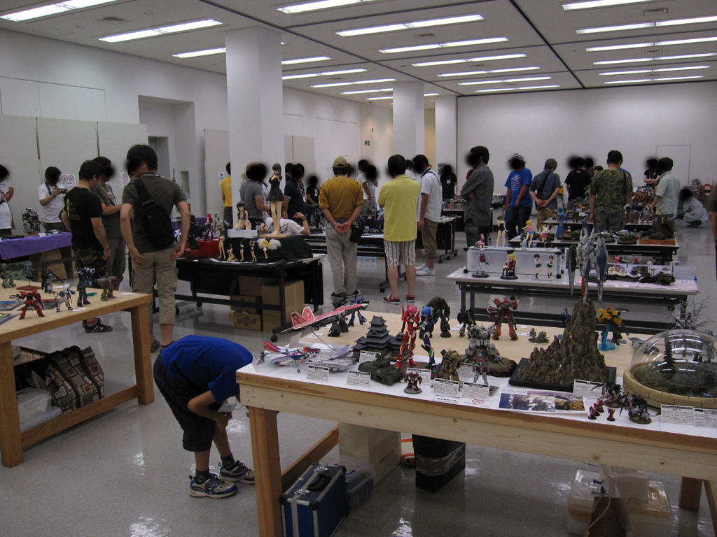 NIPCOM:展示会会場内の様子