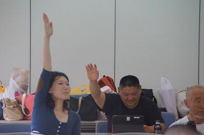 ごりえさん挙手