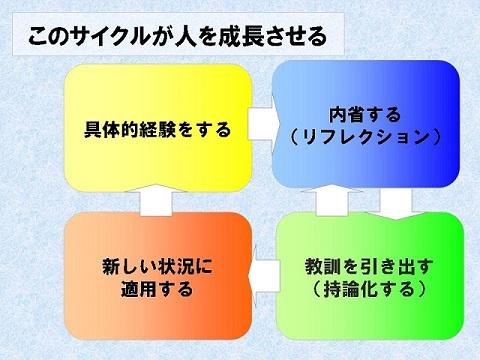 経験学習サイクル ○