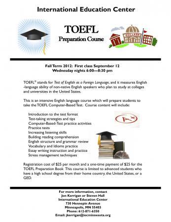 TOEFL Prep Course