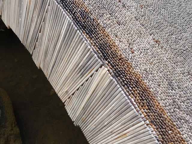 割り箸で造った橋