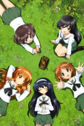 4yande.re 231084 akiyama_yukari girls_und_panzer isuzu_hana nishizumi_miho reizei_mako seifuku sugimoto_isao takebe_saori thighhighs