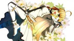 169yande.re 234631 calendar fate_extra fate_extra_ccc fate_stay_night saber_bride saber_extra takeuchi_takashi