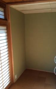 壁面収納、設置前