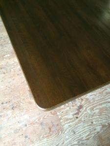 ダイニングテーブルの修繕(角)