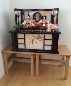 雛台ベンチ(雛人形)