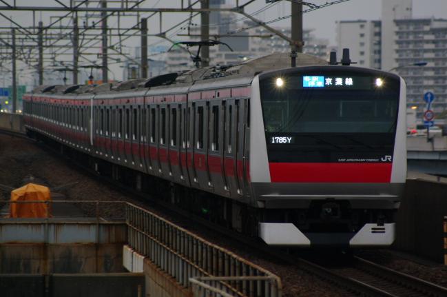 2012年4月25日 京葉線 ケヨ551+F51