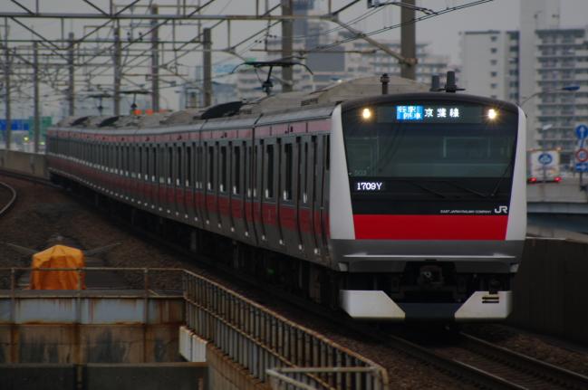 2012年4月25日 京葉線 ケヨ503