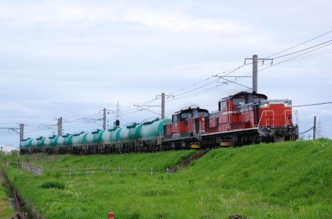 2012年5月 GW DD51 重連