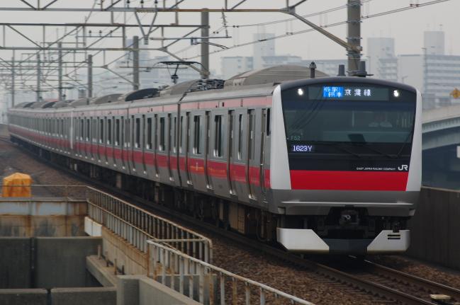 2012年5月9日 京葉線 1623Y ケヨ552+F52