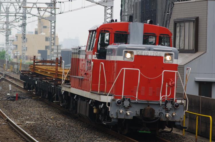 2012年5月9日 京葉線 DE10-1704