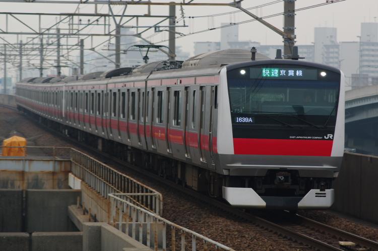 2012年5月9日 京葉線 ケヨ554+F54 1639A