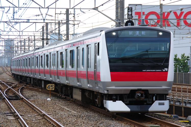 2012年6月7日 ケヨ554 試運転 新習志野