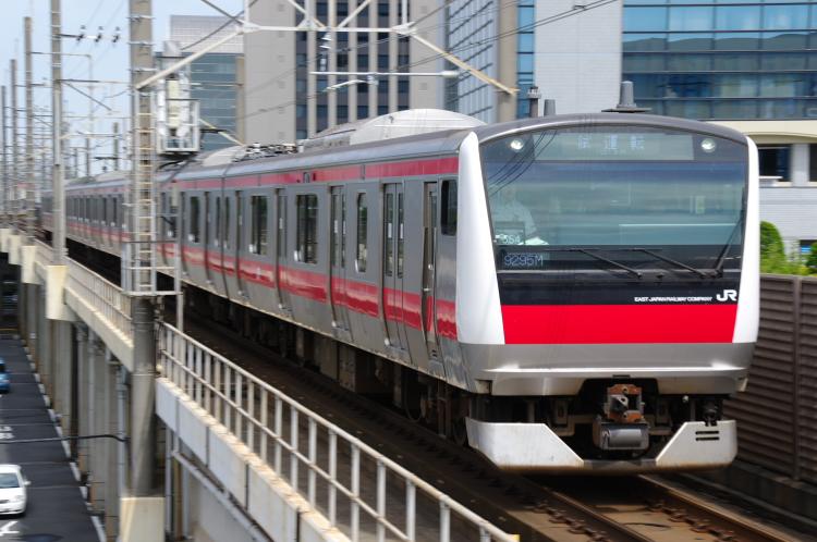 2012年6月7日 ケヨ554 試運転 海浜幕張