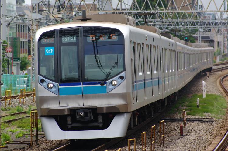 2012年6月18日 中央緩行 走行会 05系 キレる