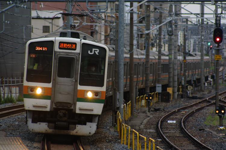 2012年6月18日 中央緩行 走行会 通勤快速