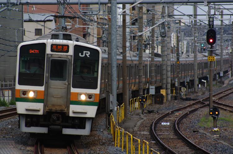 2012年6月18日 中央緩行 走行会 高崎線