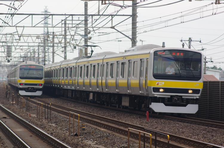 2012年6月21日 総武線 試運転 ミツ18 稲毛
