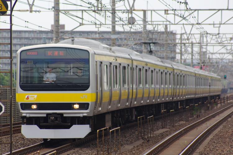 2012年6月21日 総武線 試運転 ミツ18