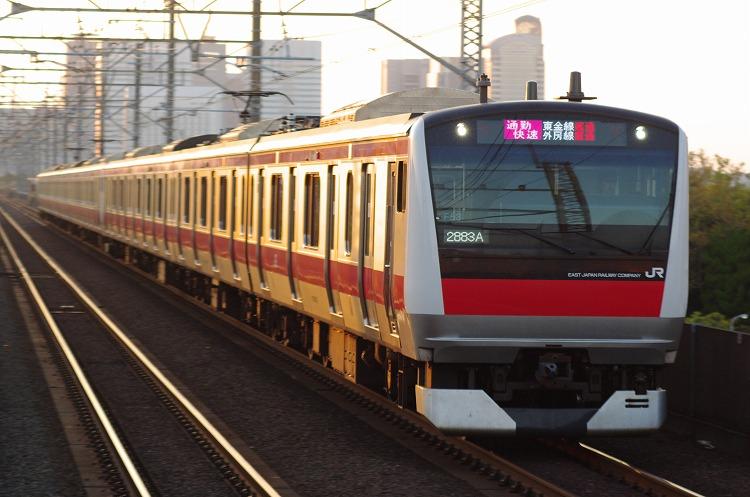 2012年6月26日 京葉線 ケヨ553 新家