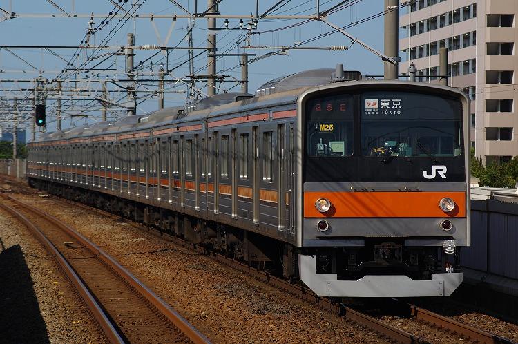 2012年6月26日 京葉線 M25