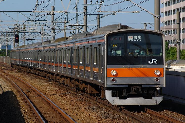 2012年6月26日 京葉線 M17