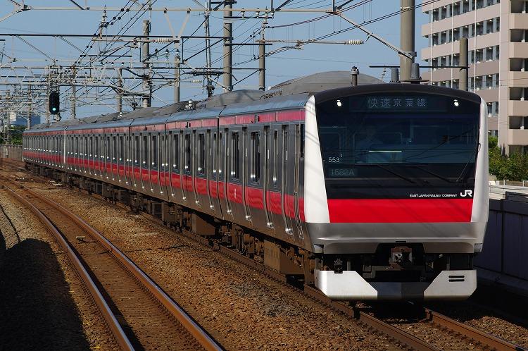 2012年6月26日 京葉線 ケヨ553