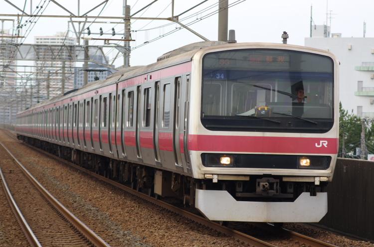 2012年7月1日 京葉線 アンパンマン ケヨ34 市川塩浜