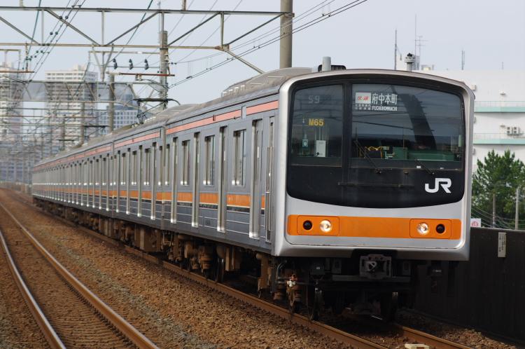 2012年7月1日 京葉線 アンパンマン M65