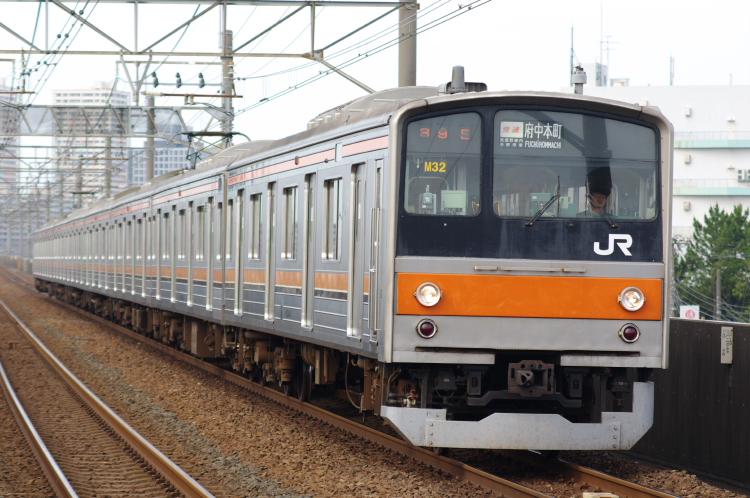 2012年7月1日 京葉線 アンパンマン M32
