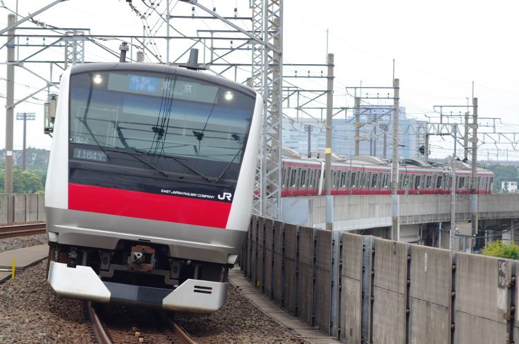 2012年7月1日 京葉線 アンパンマン ケヨ552+F52 潮見