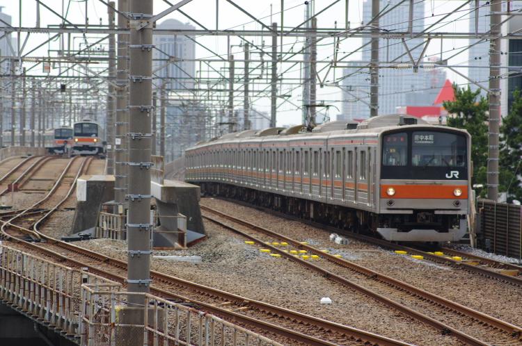2012年7月1日 京葉線 アンパンマン 新習志野