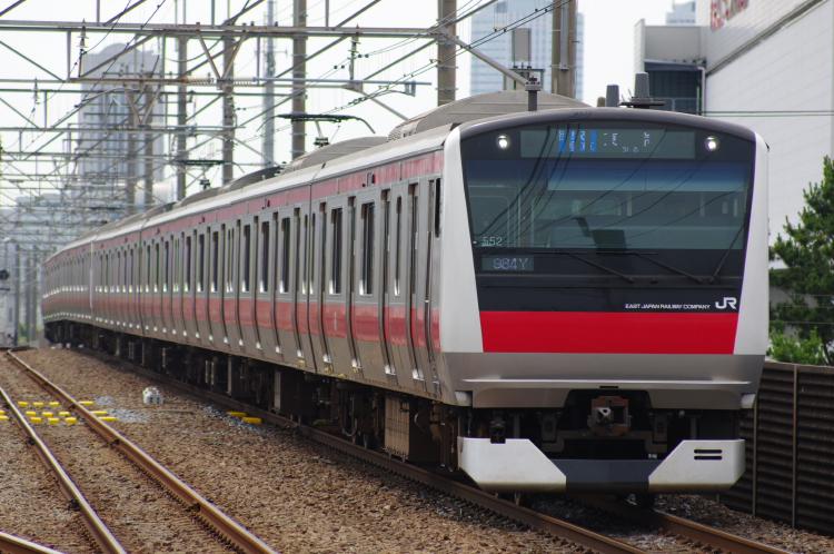 2012年7月1日 京葉線 アンパンマン ケヨ552+F52 新習志野