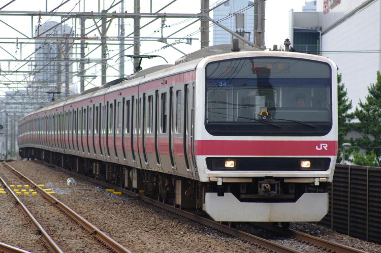2012年7月1日 京葉線 アンパンマン ケヨ34 新習志野