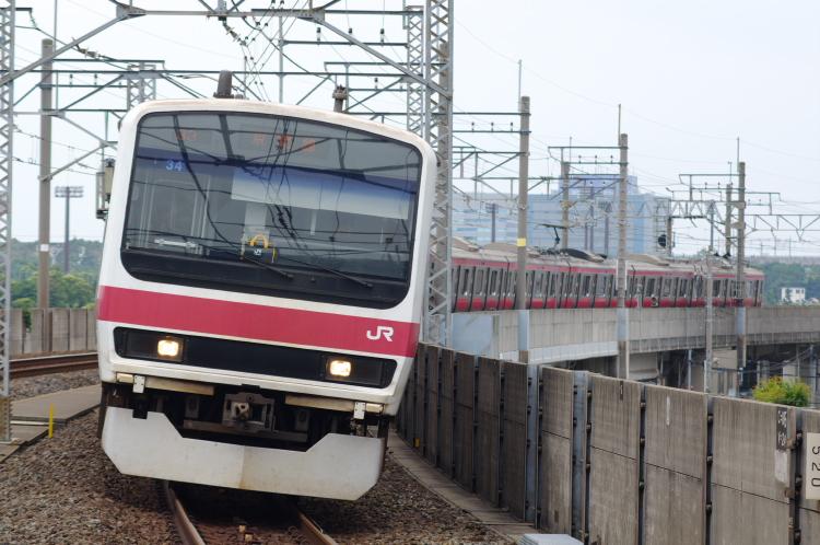 2012年7月1日 京葉線 アンパンマン ケヨ34 潮見