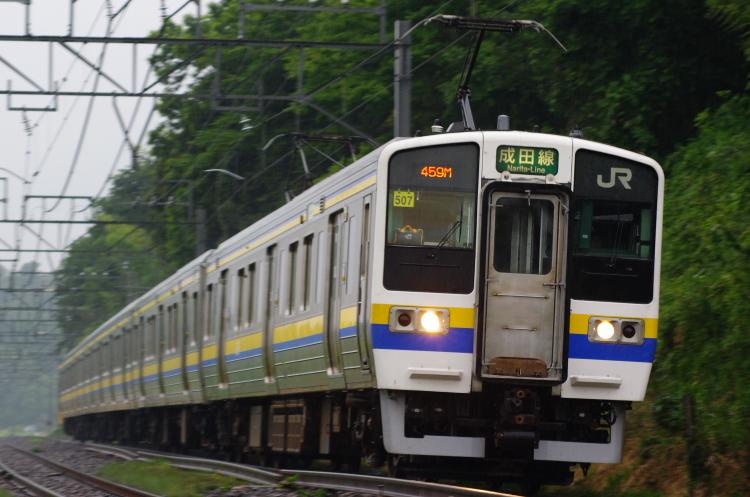 2012年7月1日 京葉線 アンパンマン マリ507