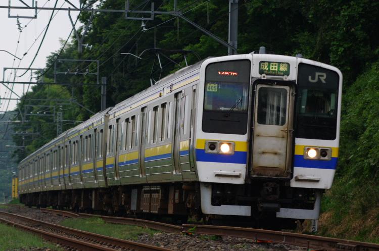 2012年7月1日 京葉線 アンパンマン マリ405