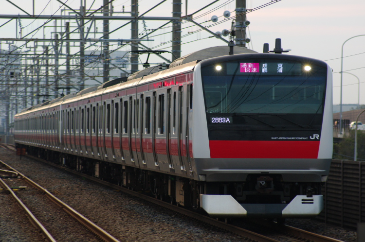 2012年7月3日 1121入れ替え 京葉線 ケヨ554
