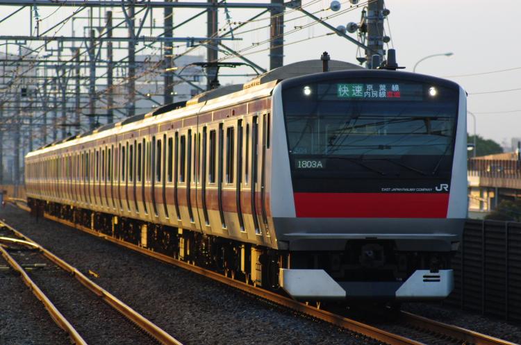 2012年7月3日 1121入れ替え 京葉線 ケヨ504