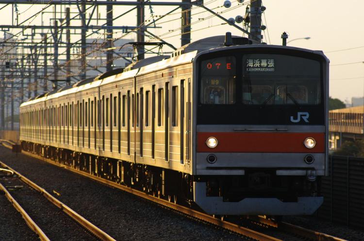 2012年7月3日 1121入れ替え 京葉線 M9