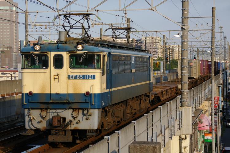 2012年7月3日 1121入れ替え 京葉線 4098レ