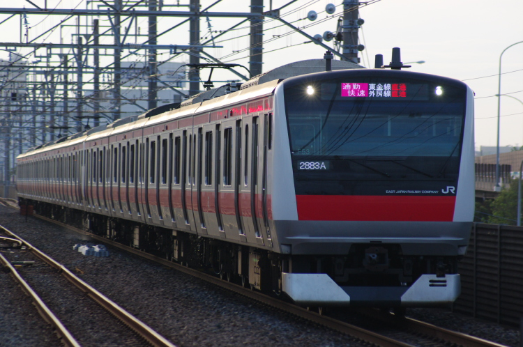 2012年7月10日 京葉線 千葉線 ケヨ553+F53