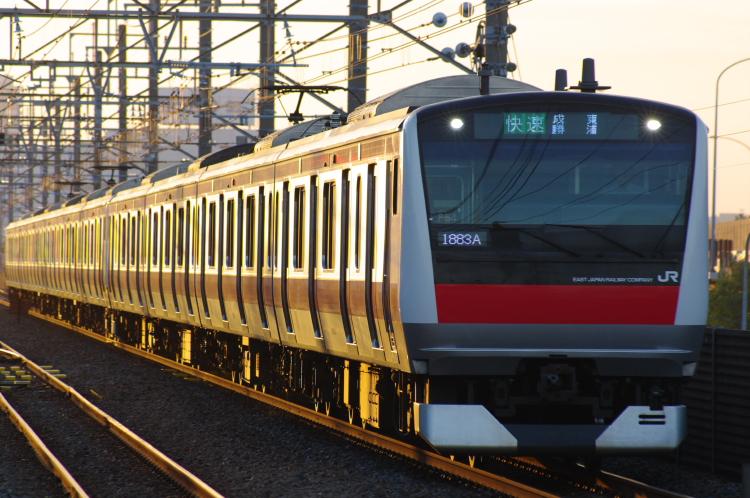 2012年7月16日 京葉線 ケヨ554+F54