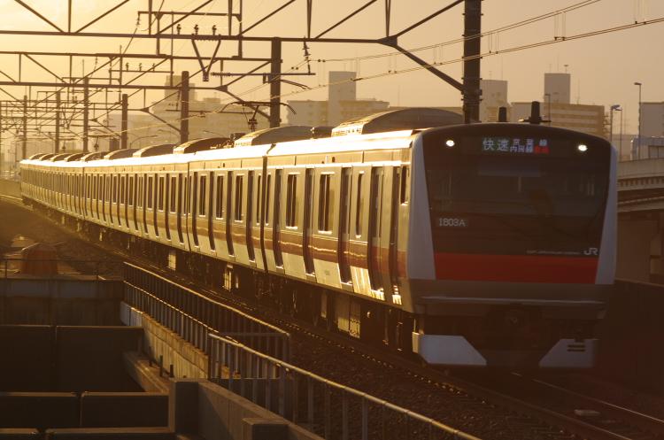 2012年7月17日 京葉線 ケヨ520