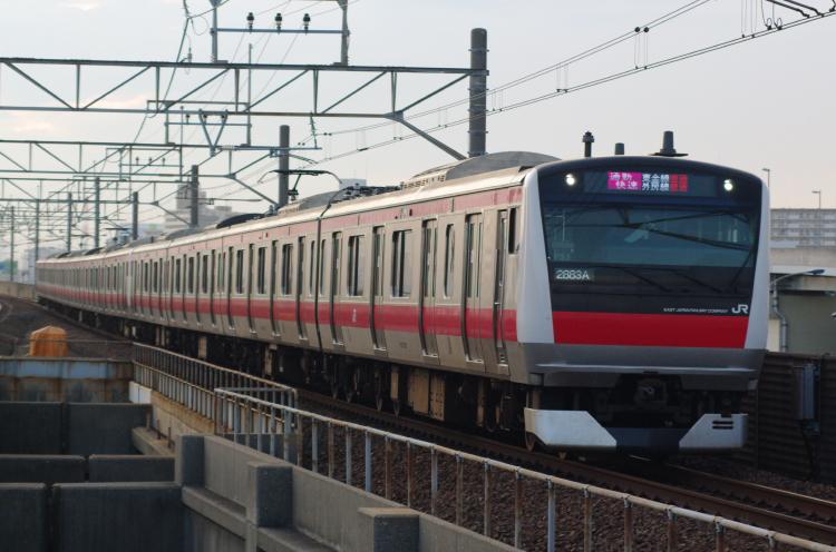 2012年7月17日 京葉線 ケヨ553+F53