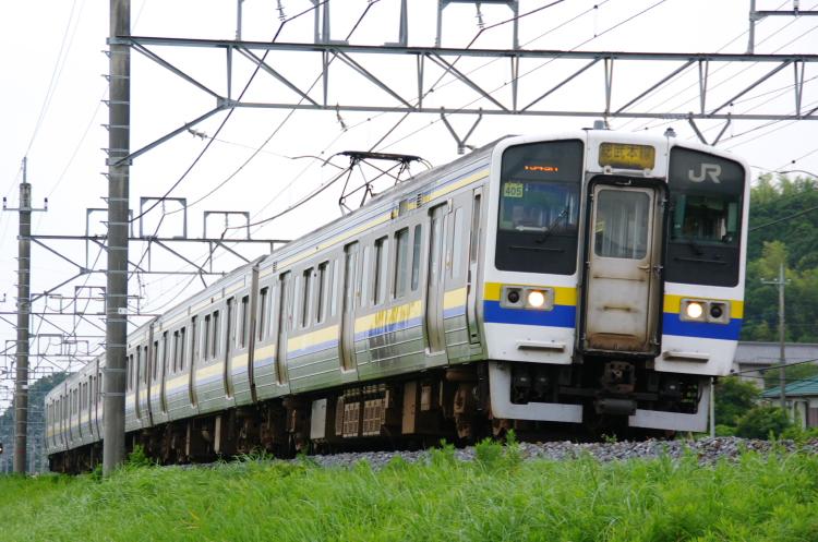 2012年7月20日 総武本線、緩行線 1349M マリ405